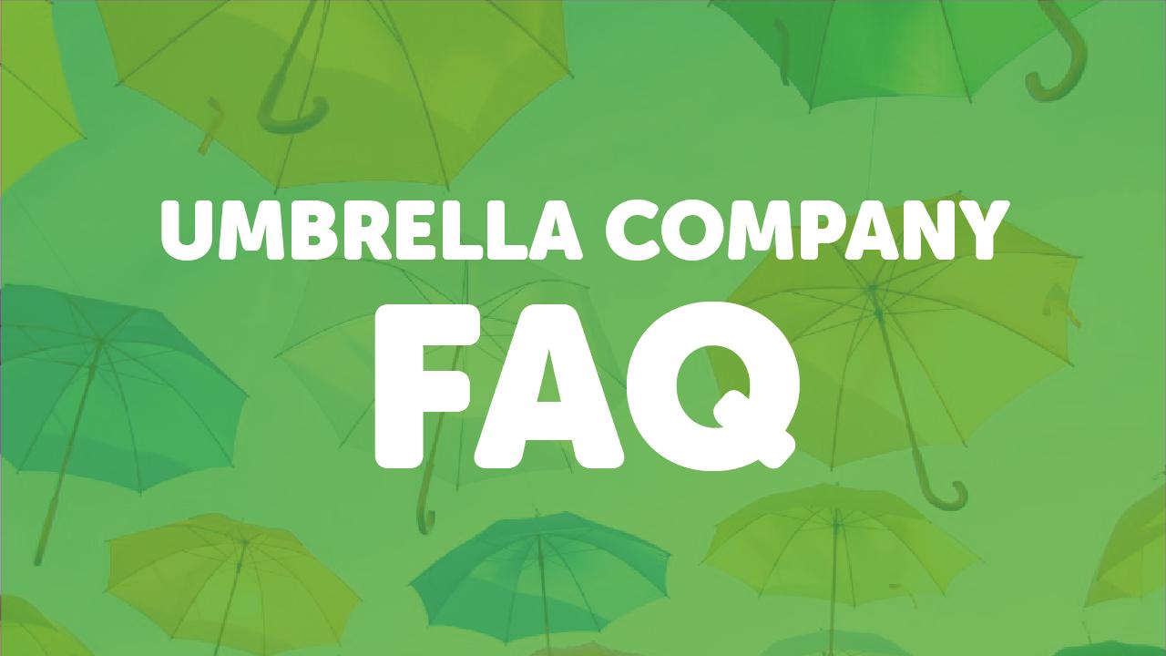 Umbrella company FAQ