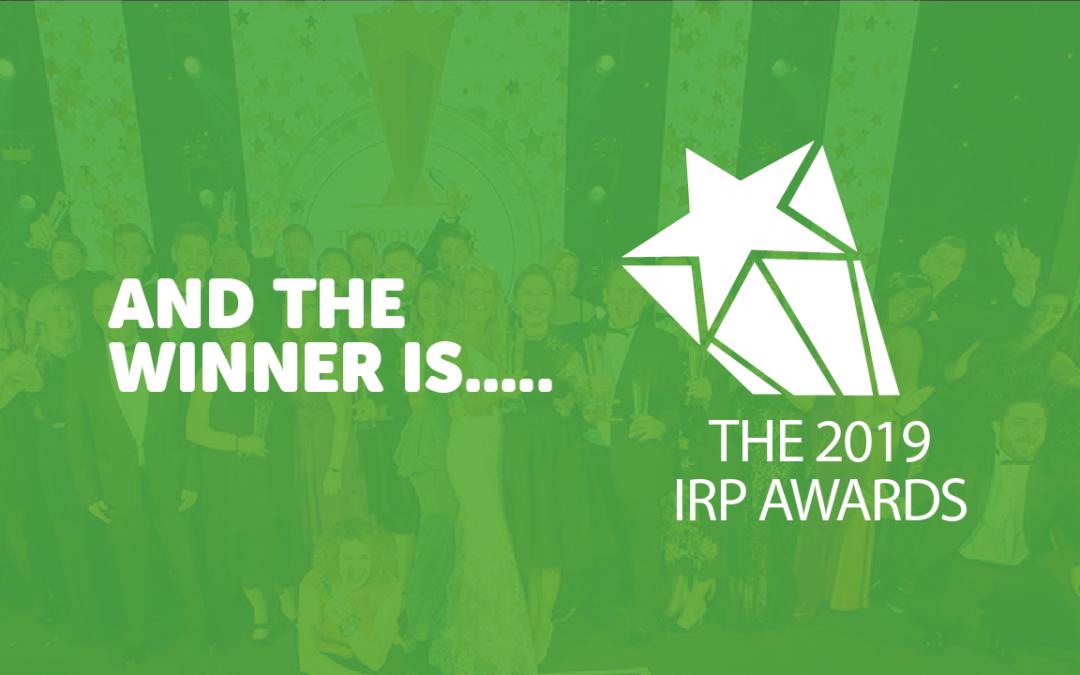 Congratulations IRP Award winners!