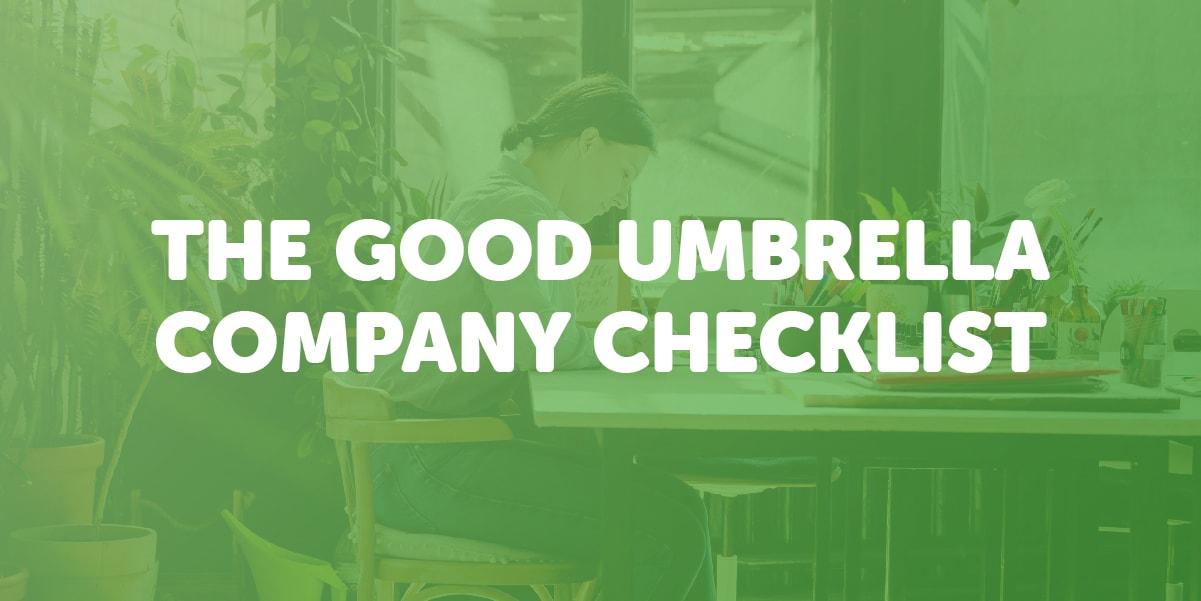umbrella company checklist