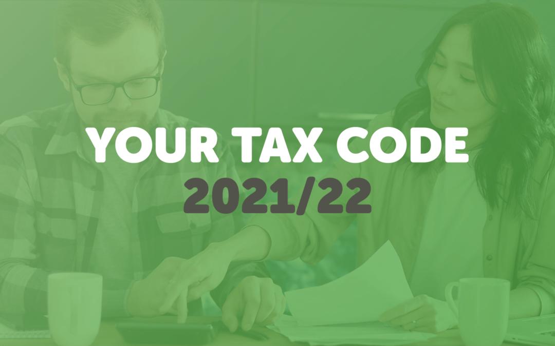 Understanding your tax code 2021/22